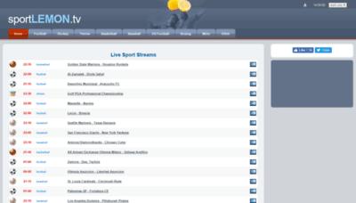 What Sportlemon.me website looked like in 2019 (2 years ago)