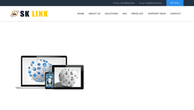 What Sklinkbd.net website looked like in 2019 (2 years ago)