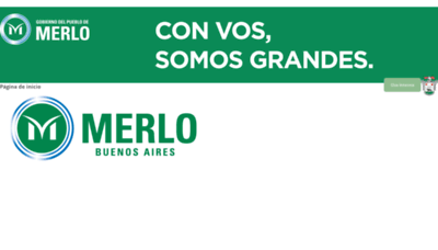 What Serviciosmerlo.net website looked like in 2019 (1 year ago)