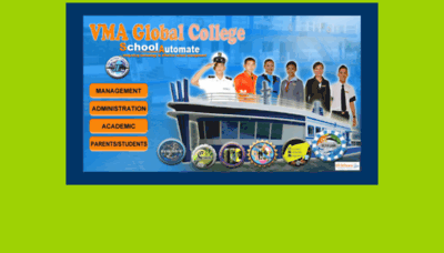 What Sis.vma.edu.ph website looked like in 2019 (2 years ago)