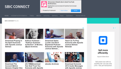 What Sbicconnect.fun website looked like in 2019 (1 year ago)