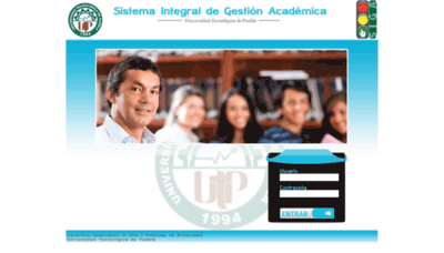 What Siga.utpuebla.edu.mx website looked like in 2019 (1 year ago)