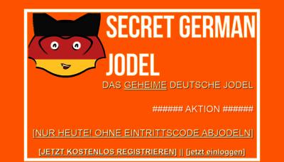 Secret swiss jodel codes