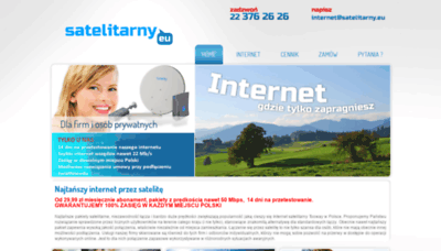 What Satelitarny.eu website looked like in 2020 (1 year ago)