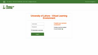 What Slate.uol.edu.pk website looked like in 2020 (1 year ago)