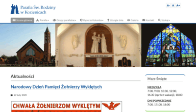 What Swrodzina-kozienice.pl website looked like in 2020 (1 year ago)