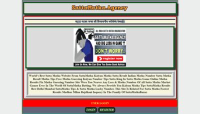 What Sattamatka.agency website looked like in 2020 (1 year ago)