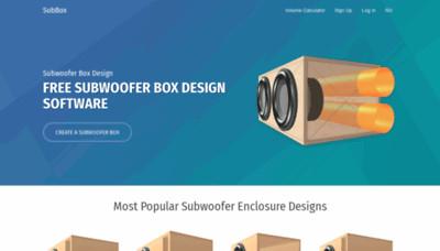 What Subbox.pro website looked like in 2020 (1 year ago)