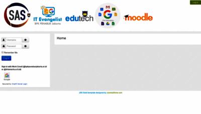 What Sas.bpkpenaburjakarta.or.id website looked like in 2020 (1 year ago)