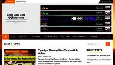 What Situsjudibolaqqratu.xyz website looked like in 2020 (1 year ago)