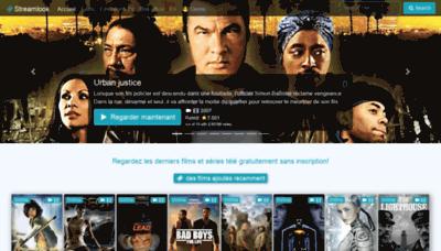 What Streamlook.me website looked like in 2020 (1 year ago)
