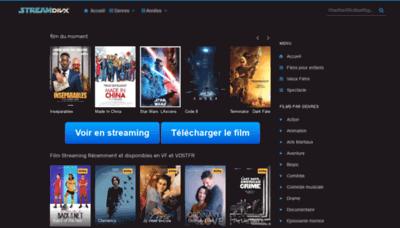 What Streamdivx.net website looked like in 2020 (1 year ago)