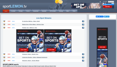 What Sportlemon.me website looked like in 2020 (This year)