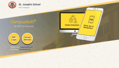 What Sjbntpc.campussoft.in website looked like in 2020 (1 year ago)