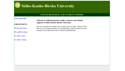 What Skbuonline.in website looked like in 2020 (This year)
