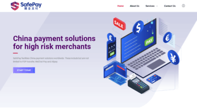 What Safepay.cc website looked like in 2020 (This year)