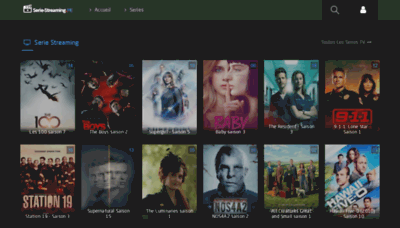 What Serie-streaming.biz website looked like in 2020 (This year)