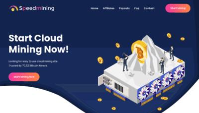 What Speedmining.website website looks like in 2021