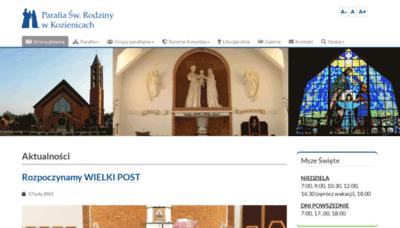 What Swrodzina-kozienice.pl website looks like in 2021