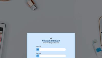 What Sansfe.info website looks like in 2021