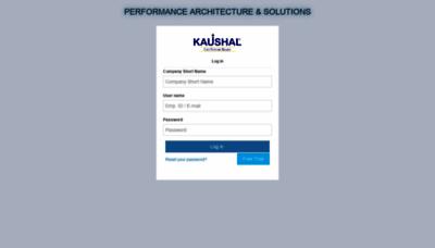What Sstpl.kaushal.team website looks like in 2021