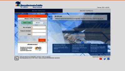 What Secure.bnc.com.ve website looks like in 2021