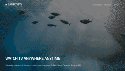 What Sansatplus.net website looks like in 2021