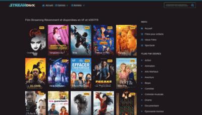 What Streamdivx.net website looks like in 2021