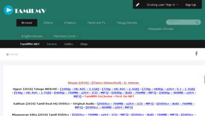 What Tamilmv.org website looked like in 2016 (4 years ago)