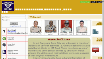 What Tenantreg.in website looked like in 2017 (4 years ago)