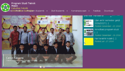 What Tm.unsam.ac.id website looked like in 2017 (3 years ago)