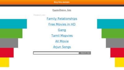 What Tamilmv.im website looked like in 2018 (3 years ago)