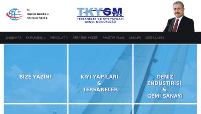 What Tkygm.gov.tr website looked like in 2018 (2 years ago)