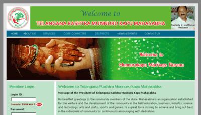 What Trmunnurukapu.org website looked like in 2018 (3 years ago)