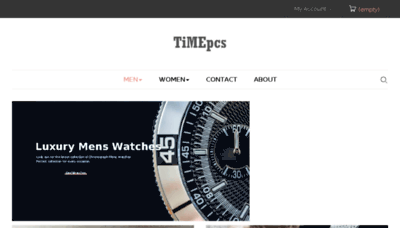 What Timepcs.in website looked like in 2018 (3 years ago)