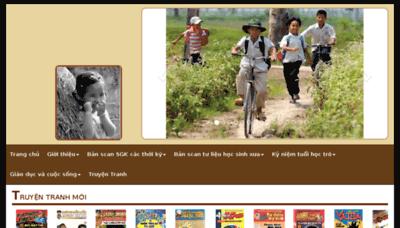 What Thuongmaitruongxua.vn website looked like in 2018 (3 years ago)