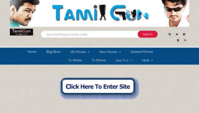 What Tamilgun.video website looked like in 2018 (3 years ago)