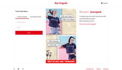 What Track.bonorganik.in website looked like in 2018 (2 years ago)