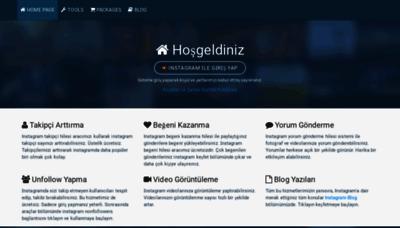What Takipmerkezi.com.tr website looked like in 2018 (2 years ago)