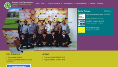 What Tm.unsam.ac.id website looked like in 2018 (2 years ago)