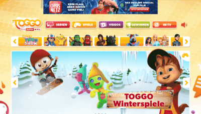 What Toggo.de website looked like in 2019 (2 years ago)