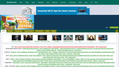 What Tamilrocker.de website looked like in 2019 (2 years ago)
