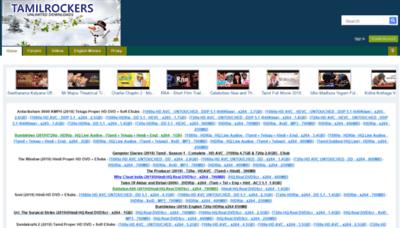 What Tamilrockers.li website looked like in 2019 (2 years ago)