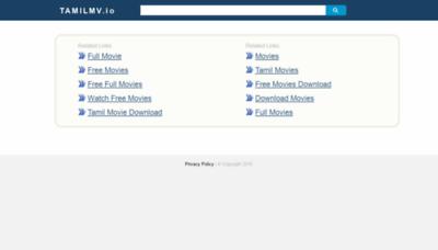 What Tamilmv.io website looked like in 2019 (2 years ago)