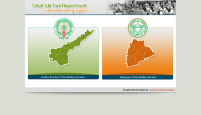 What Twhostels.cgg.gov.in website looked like in 2019 (2 years ago)