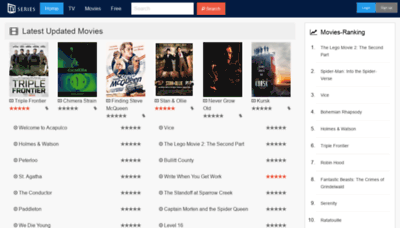 What Tvseries.net website looked like in 2019 (2 years ago)