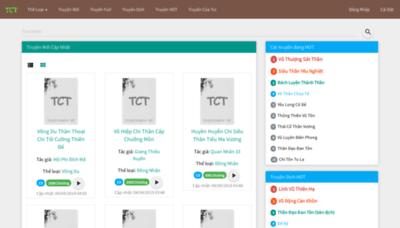 What Truyencuatui.net website looked like in 2019 (2 years ago)