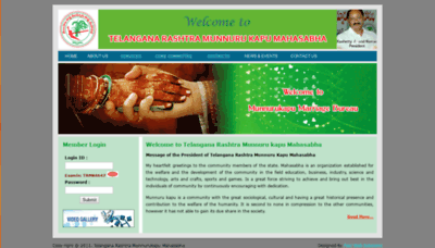 What Trmunnurukapu.org website looked like in 2019 (2 years ago)