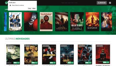 What Torrentfilmes.net website looked like in 2019 (2 years ago)