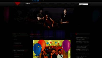 What Thevampirediaries.ru website looked like in 2019 (1 year ago)